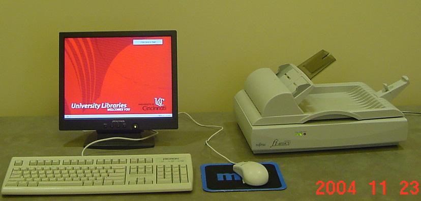 Escaner y ordenador
